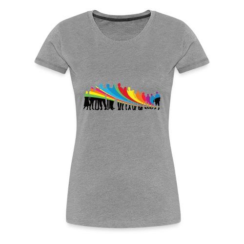 Vielfalt Regenbogen - Frauen Premium T-Shirt