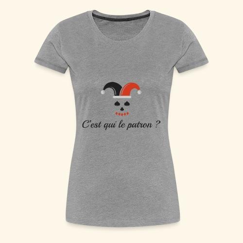 Joker Face - T-shirt Premium Femme