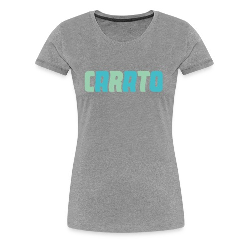 carato - Frauen Premium T-Shirt