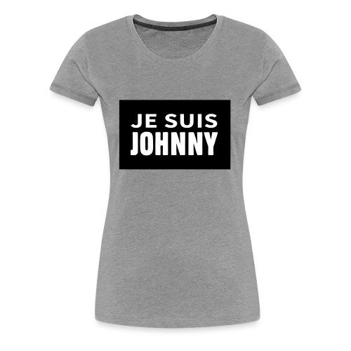 Je suis Johnny - T-shirt Premium Femme