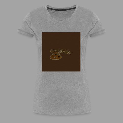 Günni Günter Desing Brown Background- - Frauen Premium T-Shirt