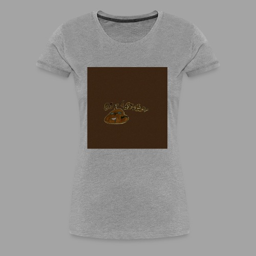 Günni Günter Desing Brown Background- - Frauen Premium T-Shirt