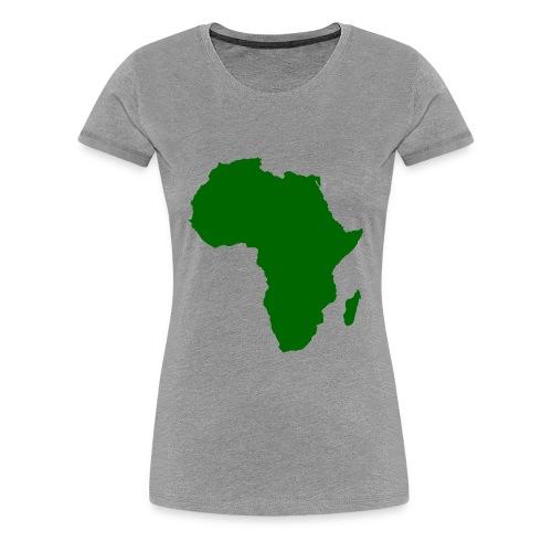 African styles green - Women's Premium T-Shirt