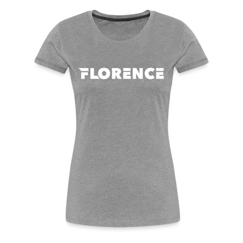 Florence black/white Collection - Frauen Premium T-Shirt