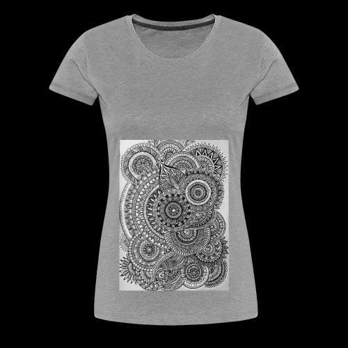 Chaos and Symmetry // - Women's Premium T-Shirt