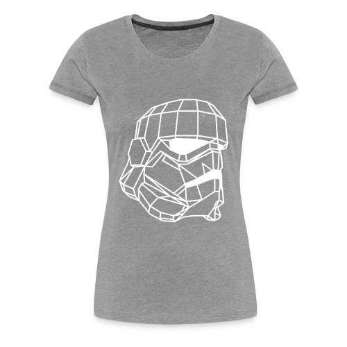 Male Stormtrooper Premium Geometrical sweater - Women's Premium T-Shirt