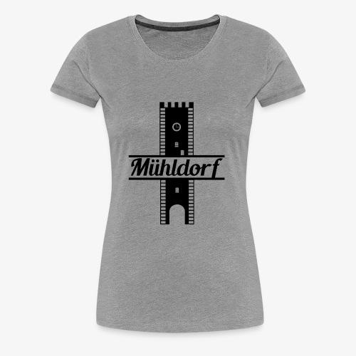 Nagelschmiedturm Mühldorf - Frauen Premium T-Shirt