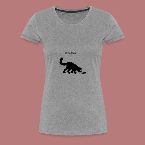 Hello there - Frauen Premium T-Shirt