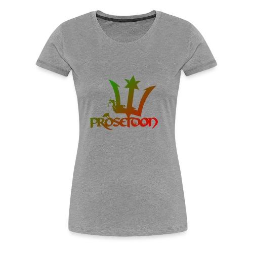 Proseidon Official Logo Rasta - Frauen Premium T-Shirt