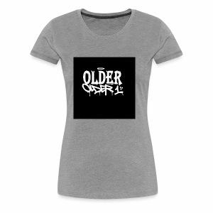 older 1 graffiti tag - Frauen Premium T-Shirt