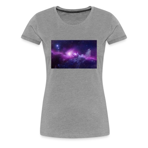 tshirt galaxy - T-shirt Premium Femme
