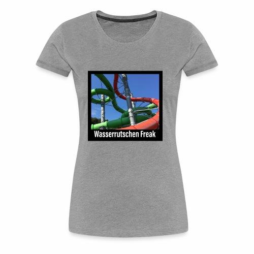 Wasserrutschen Freak - Frauen Premium T-Shirt