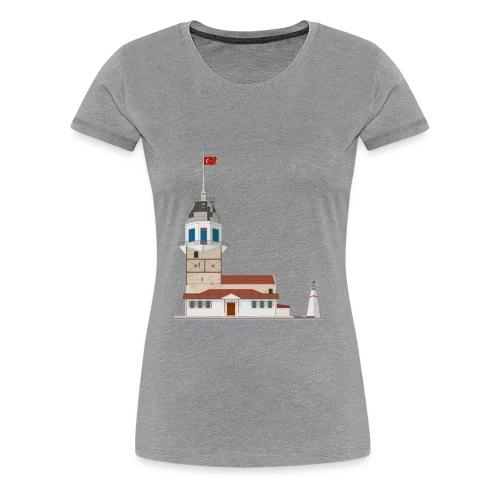 Kiz Kulesi - Vrouwen Premium T-shirt