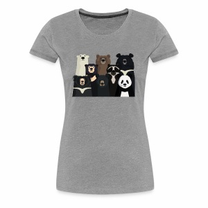 Bears of the world - Women's Premium T-Shirt