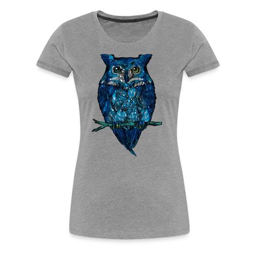 Ugle - Premium T-skjorte for kvinner