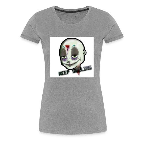 JUST SMILE - T-shirt Premium Femme