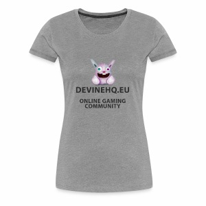 Our crazy gaming logo - Vrouwen Premium T-shirt
