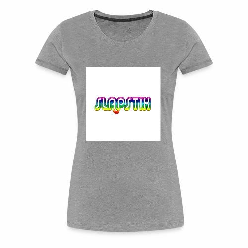 slapstix logo - Women's Premium T-Shirt