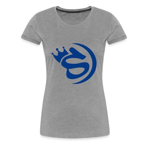 S blau - Frauen Premium T-Shirt