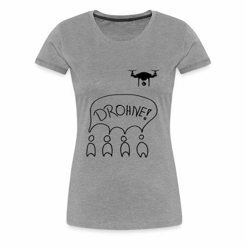 FFF Drohne - Frauen Premium T-Shirt