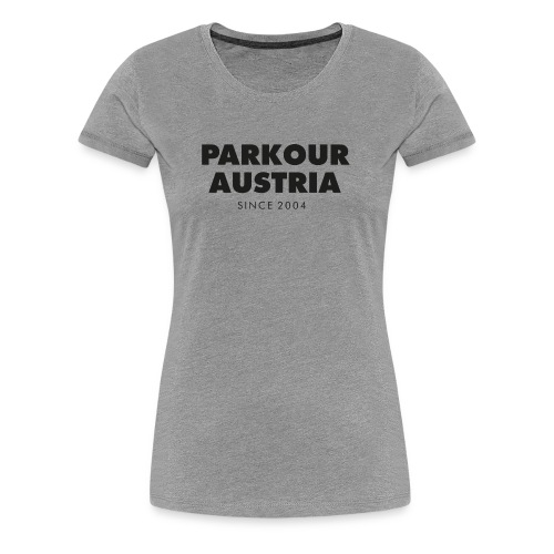 PKA_Font_black - Frauen Premium T-Shirt