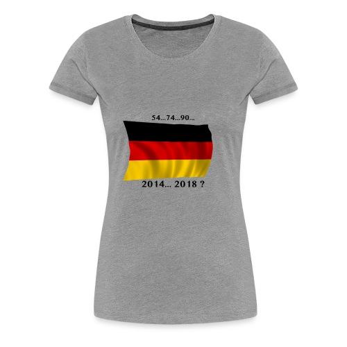 Deutschland Fussball WM Geschenkidee - Frauen Premium T-Shirt