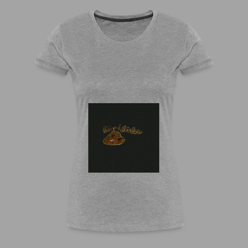 Günni Günter Design Black Background- - Frauen Premium T-Shirt