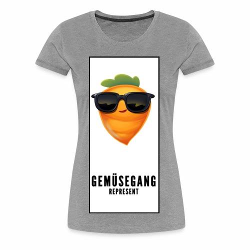 Gemüsegang - Frauen Premium T-Shirt
