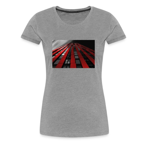 building-1590596_960_720 - Frauen Premium T-Shirt