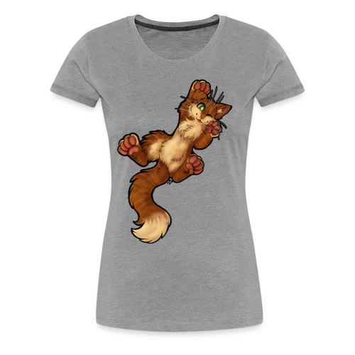 GOSIGA KATTEN - Premium-T-shirt dam