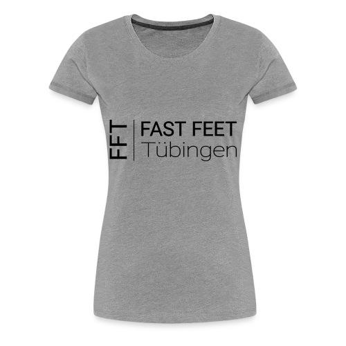 Fast Feet Tübingen - Text-Logo - Frauen Premium T-Shirt