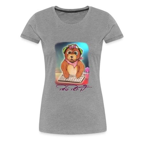 Piina Piich Masskottchen Standart - Frauen Premium T-Shirt