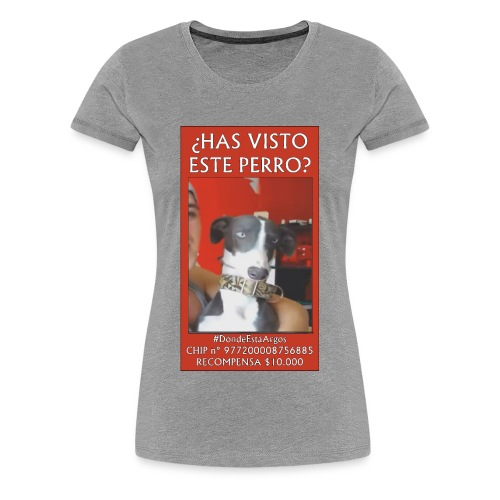 #dóndeestáargos ARGOS ver.rojo - Camiseta premium mujer