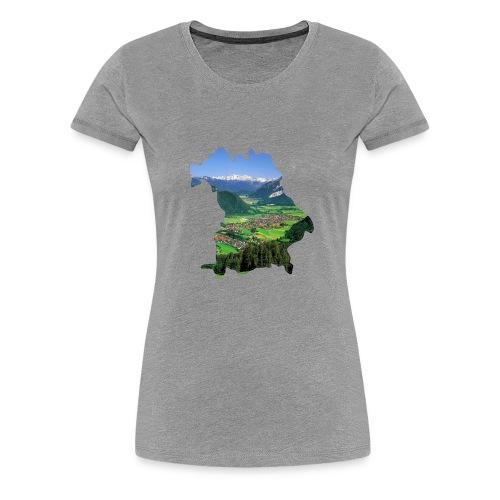 Allgäu Design - Frauen Premium T-Shirt