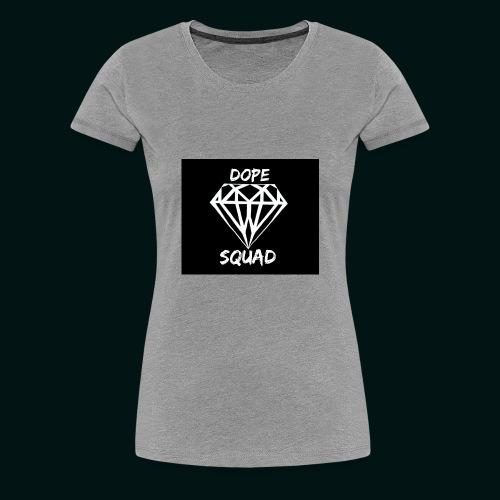 Dope Squad dames zwart - Vrouwen Premium T-shirt
