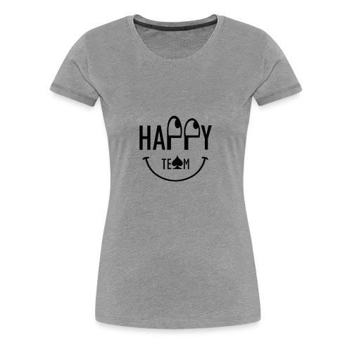 Happy Team - Maglietta Premium da donna