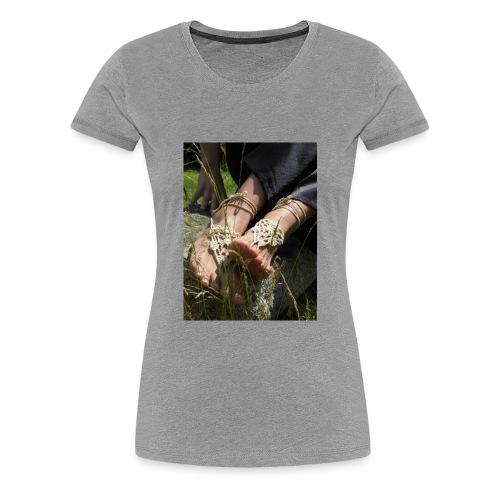 Barfußsandalen - Frauen Premium T-Shirt
