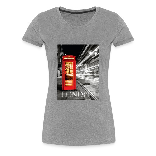 London | 8SAP City Collection - Frauen Premium T-Shirt