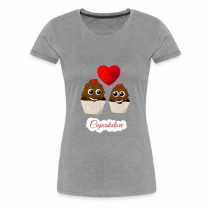 Cupcakelove - Frauen Premium T-Shirt