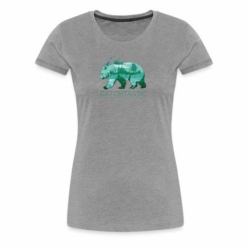 Bär Natur - Frauen Premium T-Shirt