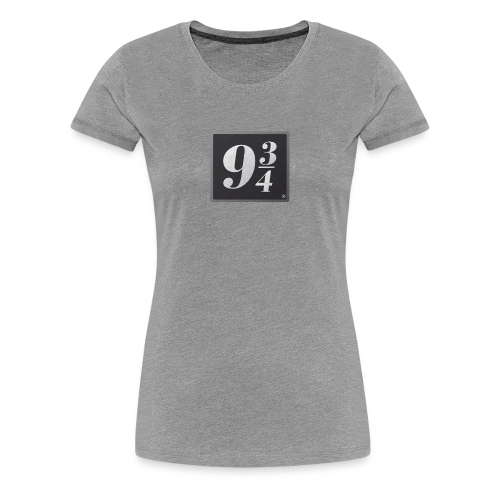 Andén nueve y tres cuartos - Camiseta premium mujer