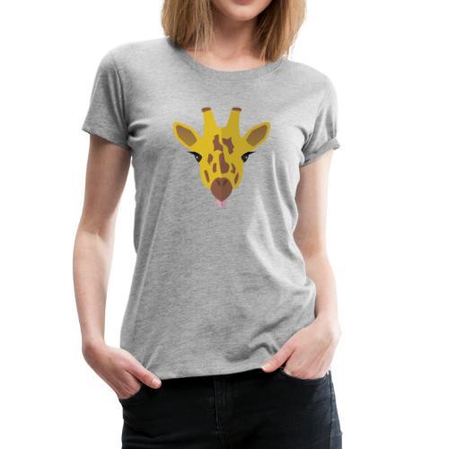 Funny Giraffe - Vrouwen Premium T-shirt