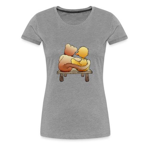 Freunde für immer - Frauen Premium T-Shirt