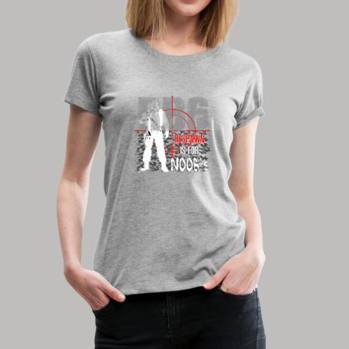 RB6 black V2 - Frauen Premium T-Shirt