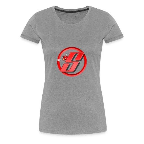 Bull Cloud Shirt - Dame premium T-shirt