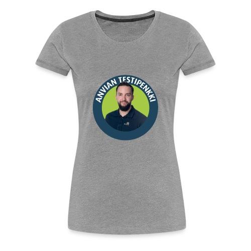 Lasten ruokalappu - Naisten premium t-paita