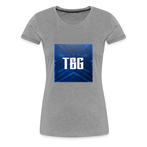 TBG Kleding - Vrouwen Premium T-shirt