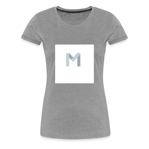 Mein Anfangsbuchstabe von meinem Namen - Frauen Premium T-Shirt