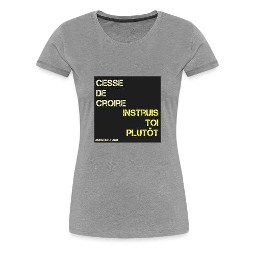 Motivation - T-shirt Premium Femme