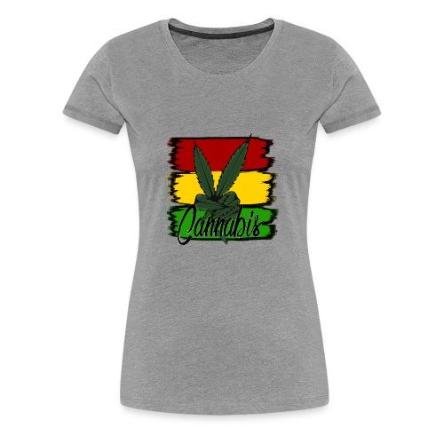 Cannabis - Dame premium T-shirt